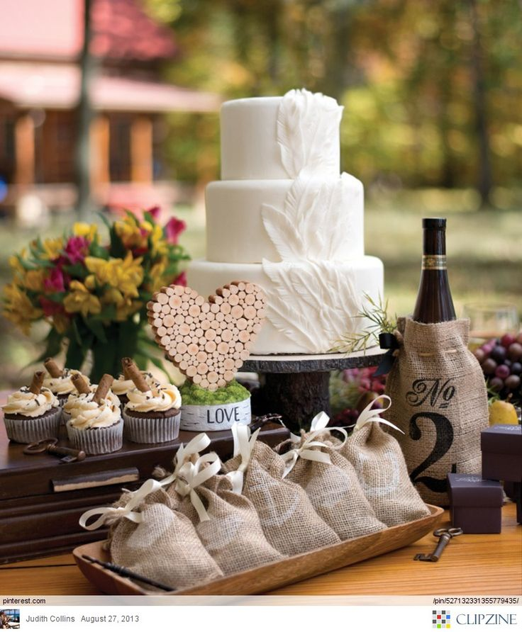 Ideas For A Fun Wedding: Rustic Wedding Ideas Using Burlap